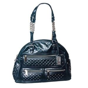 BADGLEY MISCHKA American Glamour Leather Bag